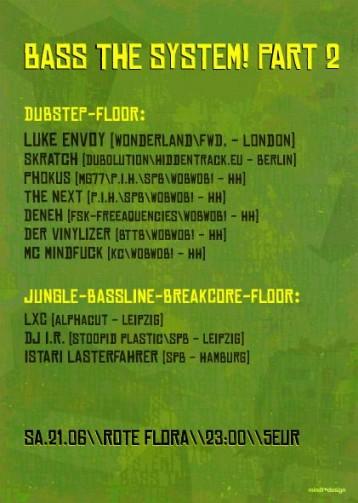 Bass The System presents: Luke Envoy