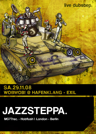 WobWob! presents Jazzsteppa