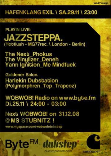 WobWob! presents: Jazzsteppa