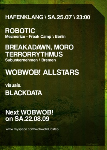 WobWob! presents: Subunternehmen + Robotic
