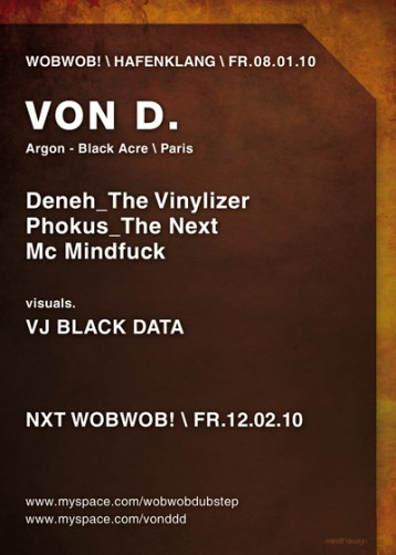WobWob! presents: Von D