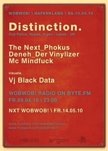 WobWob! presents: Distinction