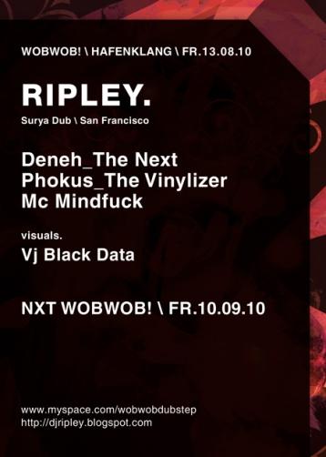 WobWob! presents: Ripley