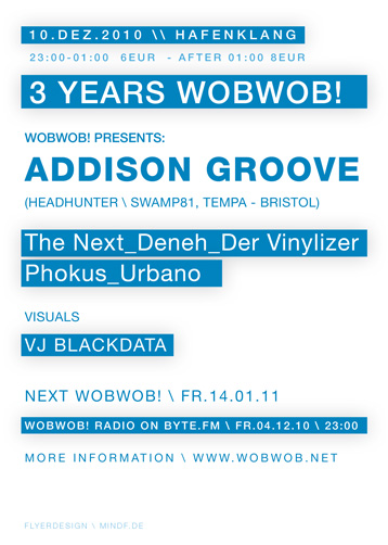 WobWob! presents: Addison Groove