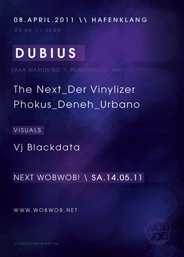 WobWob! presents: Dubius