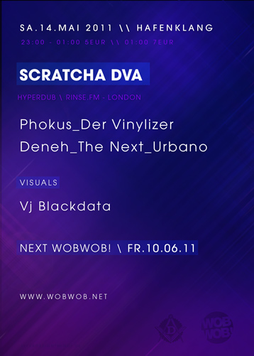 WobWob! presents: Scratcha DVA