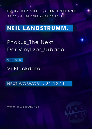 WobWob! presents: Neil Landstrumm