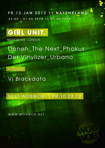 WobWob! presents: Girl Unit
