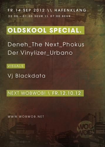 WobWob! presents: Old Skool Special