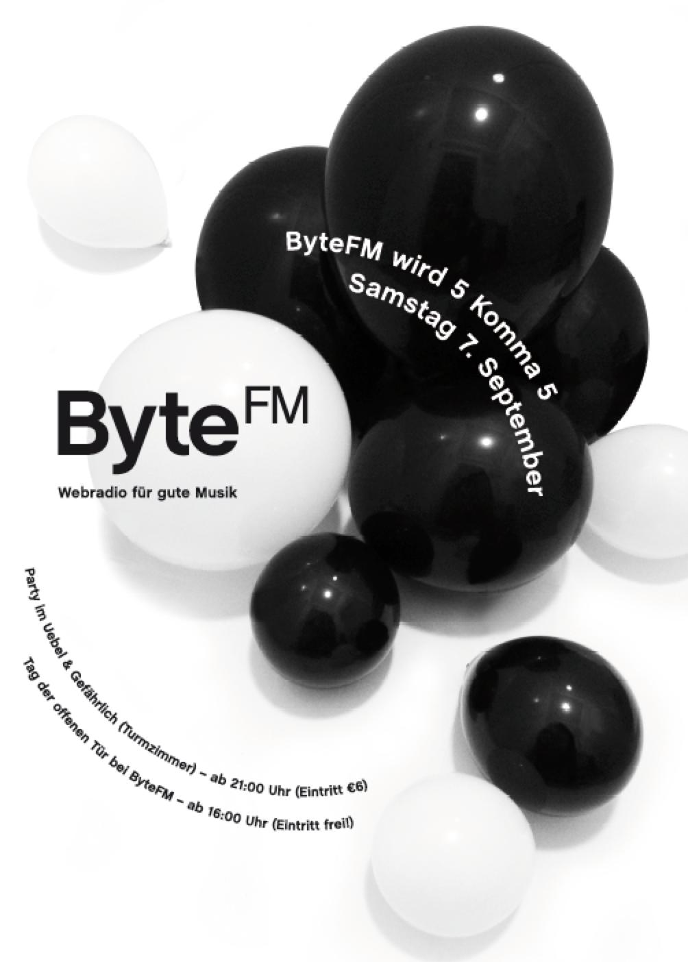 5 komma 5 Jahre ByteFM.