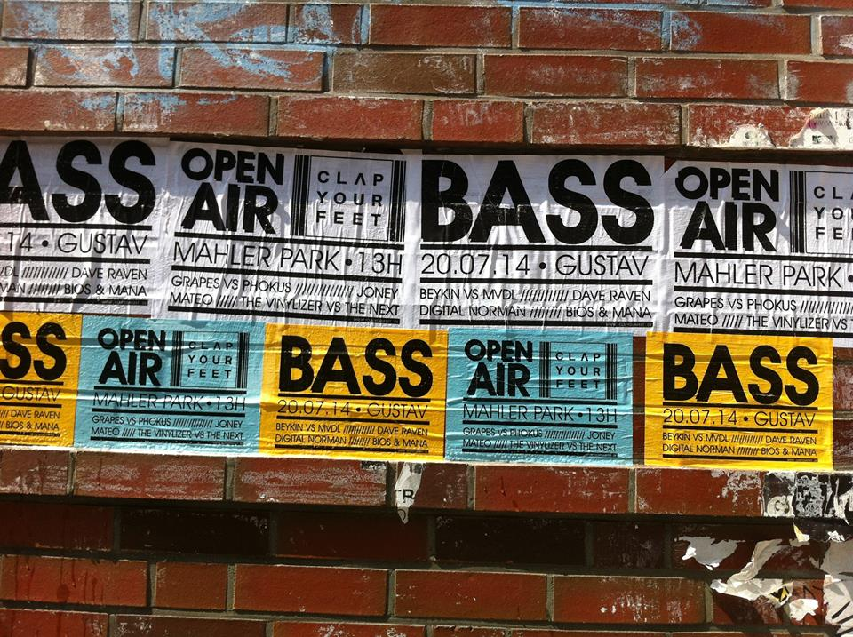 CYF Bass Open Air im Gustav-Mahler-Park.