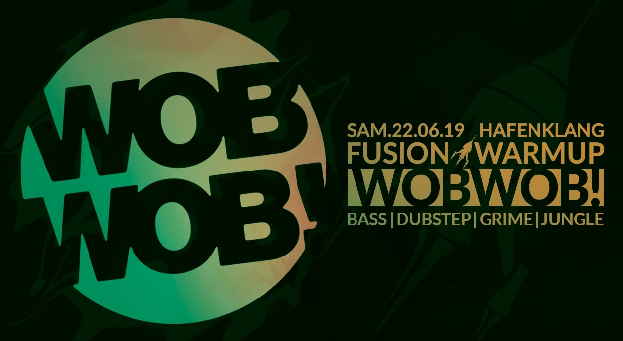 wobwob dubstep hamburg flyer - 1